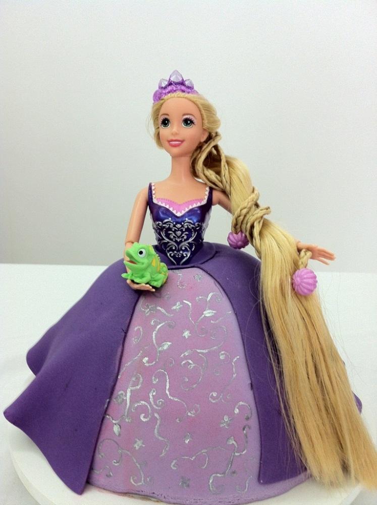 Bolo Rapunzel - Enrolados (3/4)